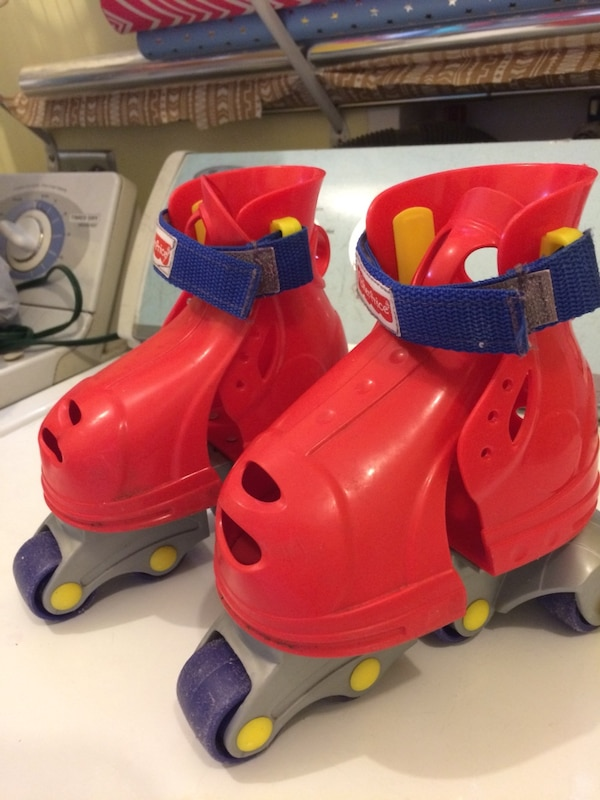 Used Fisher Price Grow With Me Roller Skates For Sale In