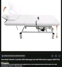 Stationary Massage Table (motorized)