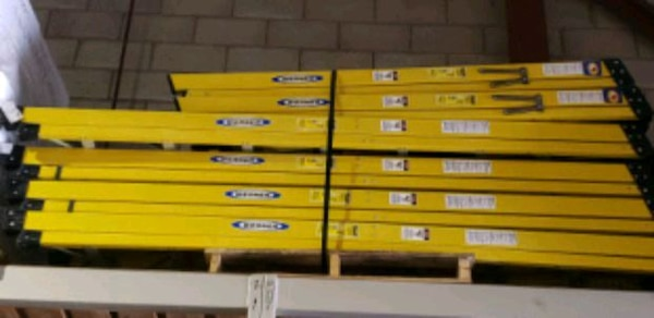 Werner 6ft and 8ft fiberglass ladders