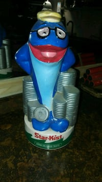 Vtg Charlie the Tuna Coin Bank Victorville, 92395