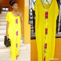 women's yellow and red dress Longueuil, J4K