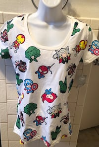 New Disney Store Superhero blouse S El Paso, 79925