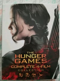 The Hunger Games Catching Fire DVD case Hartford
