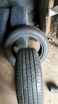 one 215/55 r16 and one 225/50 r17 Delta, V4C 4X9