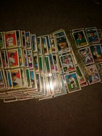 assorted baseball trading card collection Maple Heights