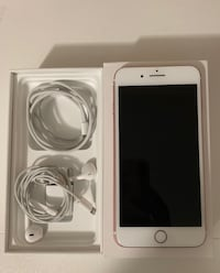 silver iPhone 6 with charger and EarPods Silver Spring, 20903