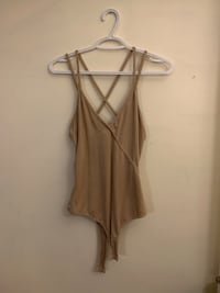 Faux suede body suit  Burnaby, V5B 3A1