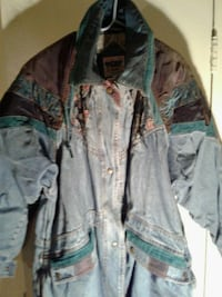 Patchwork denim coat  Hyattsville, 20784
