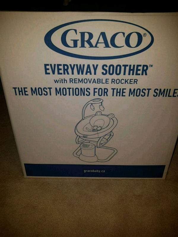 BNIB Graco everyday soother.  1040aeb8-b594-453f-83a2-55f8b89d97bd