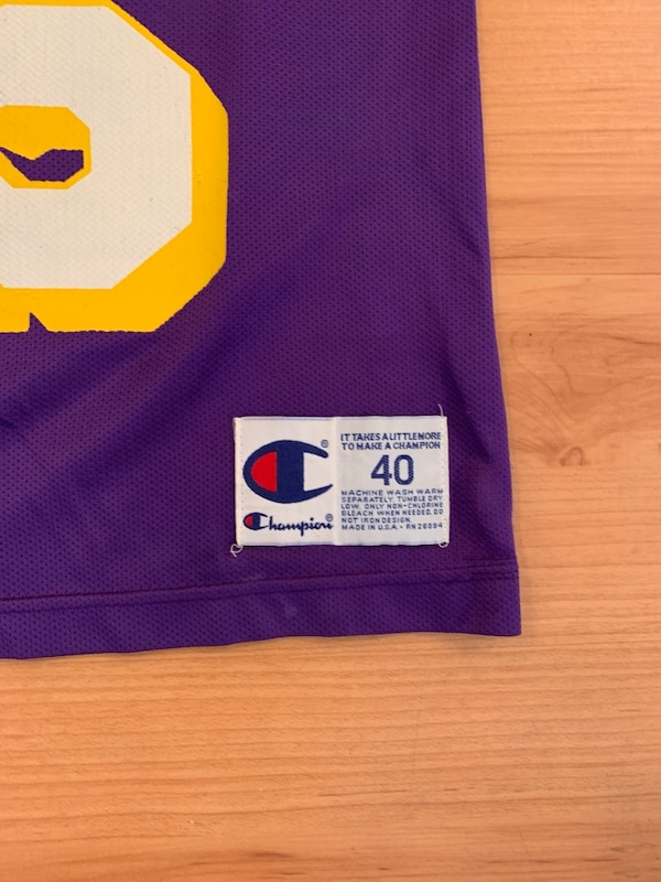 dba3c6c9ffa Used Vintage Los Angeles NBA Champion Jersey for sale in Canyon Country -  letgo