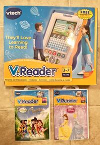 VTech V.Reader Interactive e-Reading System with Games Louisville, 40219