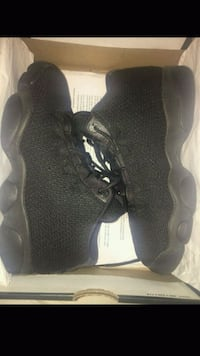 pair of black Air Jordan basketball shoes Fresno, 93702