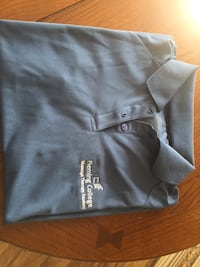 4 fleming college rmt short sleeve tops. 2 sm 1 med 1 large. $15 each very good condition  Brampton, L6X 0E5