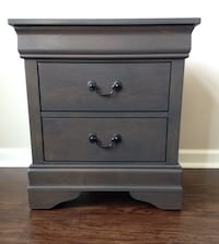 New Gray Nightstand(s) Silver Spring