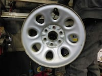 1 white stock rim Michigan, 48359