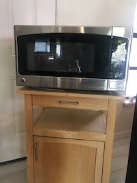 Gray and black microwave with stand Orlando, 32818