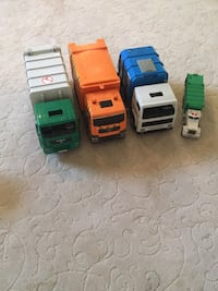 Garbage truck toys 3 of these are large trucks