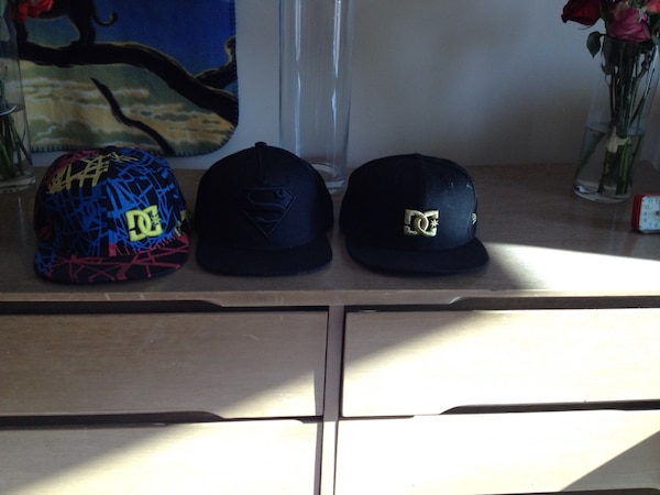 Used black and blue fitted caps for sale in Red Deer - letgo 33e09c6bb9d0
