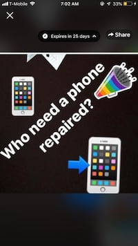 Iphone 4,4s,5,5c,5s,6,6+,6s,6sq+,7,7+,8,8+,x and all samsung phones repairs Laurel