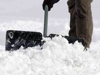 Snow shoveling and ice removing service