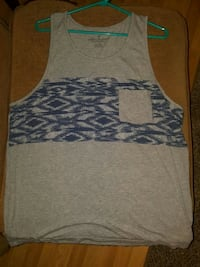 Grey and Blue American Eagle Tank Abbeville, 70510