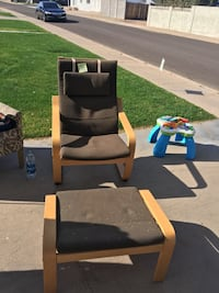 Poang Chair and ottoman  Scottsdale, 85251