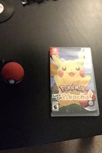 Pokémon let's go pikachu switch plus pokeball  Mississauga