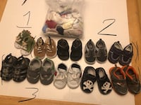 Boys shoes 1-3. Siloam Springs, 72761