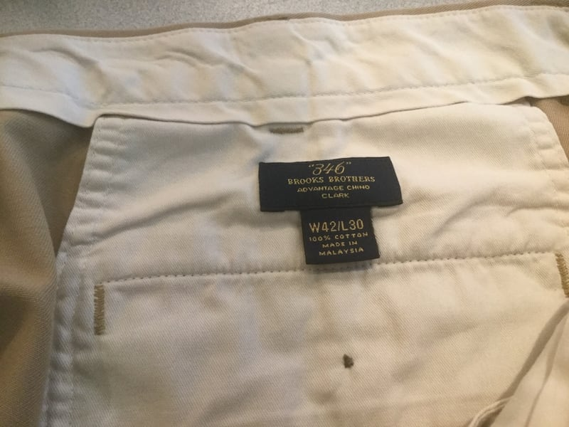 Pants 346 Brooks Brothers Size W 42 by L 30 1