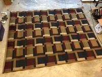 ESTATE SALE: Colorful high quality rug approx 8ft by 10ft Smyrna, 37167