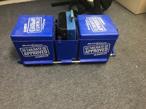 Used Bud Light Grooler Cooler For Sale In Hopewell Junction Letgo