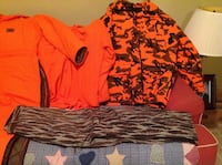 Orange and black camouflage hooded jacket Purcellville, 20132