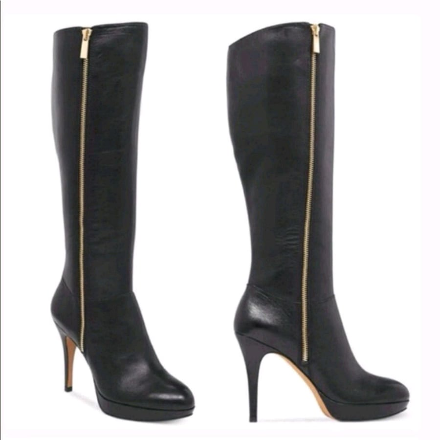 Vince camuto leather tall boots 7.5M