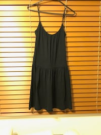 black spaghetti strap mini dress Mc Lean, 22102