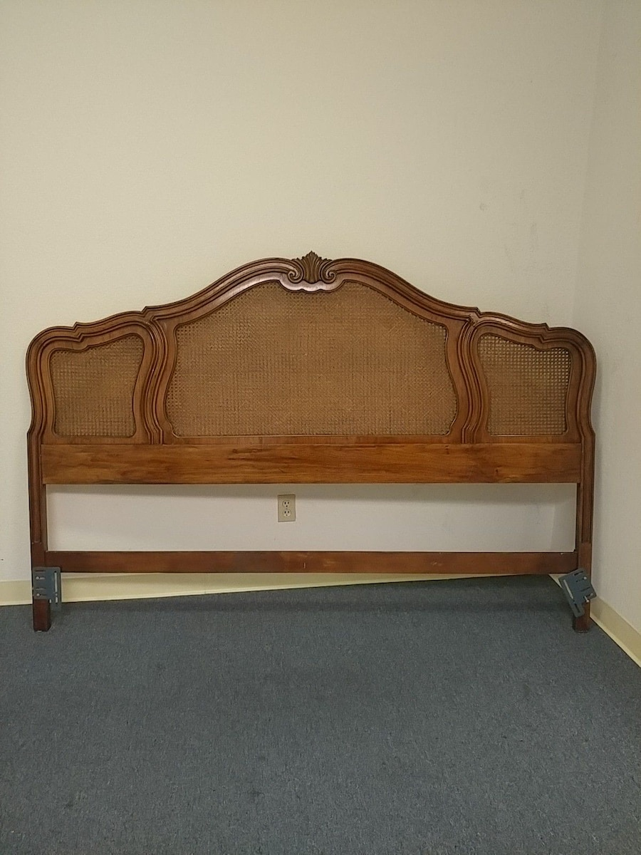 used king french provincial thomasville oak and cane for sale in san rh us letgo com