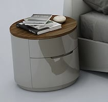 J&M Furniture Amsterdam Night Stand