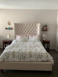 Queen Mattress, Box Spring, and Bed Frame for sale Arlington, 22204