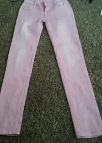 pink and white denim pants Lompoc, 93436