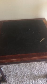 Foldable Brown and Black Table Anaheim, 92804