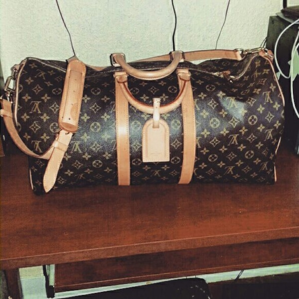 18f3194be7b9 Used Louis Vuitton KEEPALL BANDOULIÈRE 55 for sale in Texarkana - letgo
