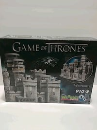 New Game of thrones 3d puzzle Cambridge, N1R 6N6