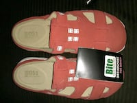 pair of red-and-white Adidas sneakers Santa Ana, 92701