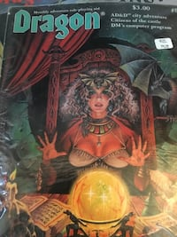 Dungeons and Dragons mags..... Chantilly