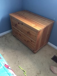 Shelf/ change table plus night stand great from kid to teenager Halton Hills, L7G 4Y2