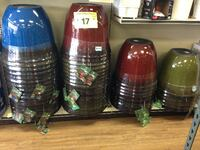 New Cobalt Lily ReSin Planter in Variety Colors Hawaiian Gardens