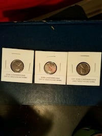 three round silver-colored coins New Carlisle, 45344