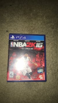 NBA 2K16 PS4 game case Shenandoah Junction, 25442