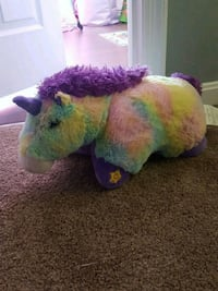 green and purple dinosaur plush toy Frederick, 21703