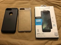 iPhone 7 Plus case and screen protector
