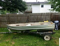 Fishing Boat and Trailer Sterling, 20164